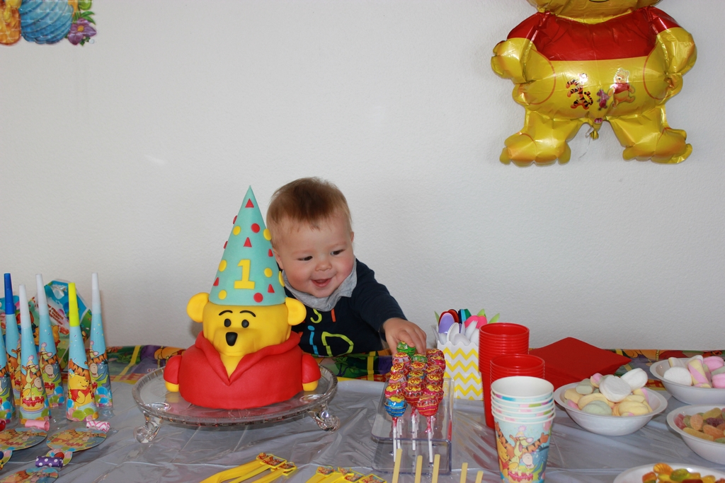 Tengo un año y Enzo 51 meses