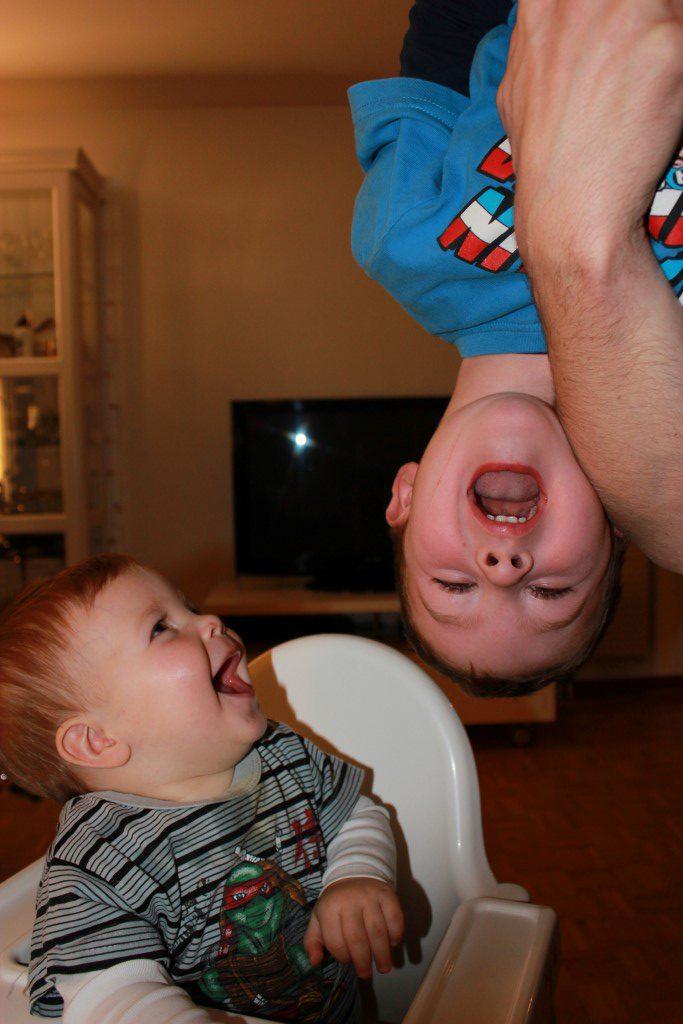 53 meses de Enzo y 14 meses de Nils